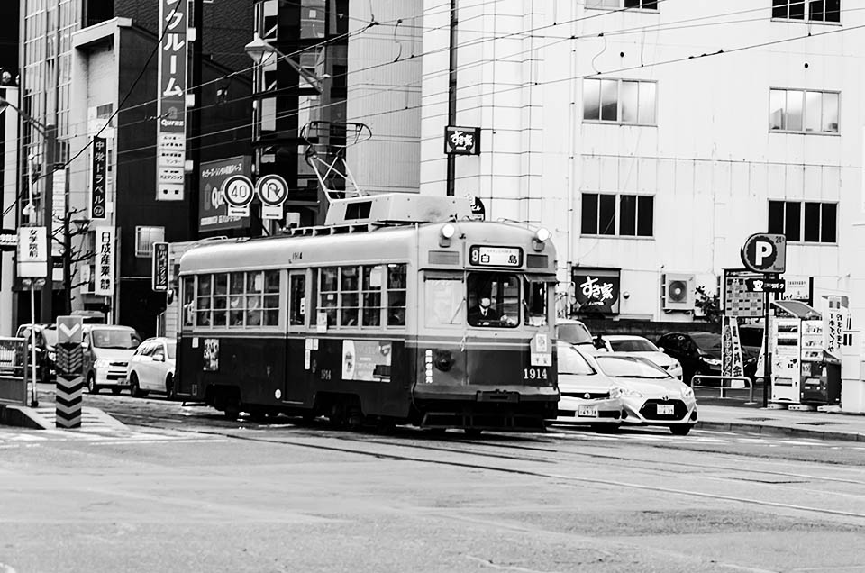 Hiroshima, tramvaj